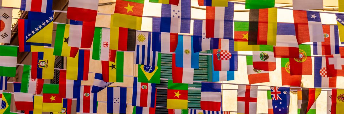 Flags Unsplash - Nick Fewings